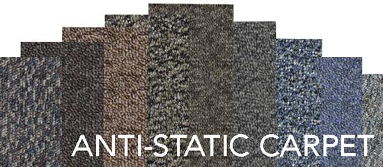 Anti Static Carpet Tiles Floor Matttroy