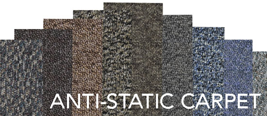 Anti Static Floor System : Anti static carpet tiles positile for tate access floor