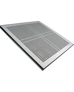 Panels allow 25% free air flow