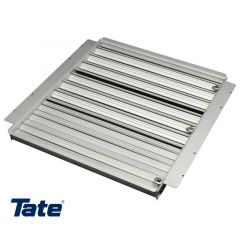 Drop in damper allows data center operators to individually adjust airflow to three zones within the rack – top, middle and bottom.