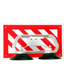 Highly visible red stripes makes locating lifters fast and effortless.
