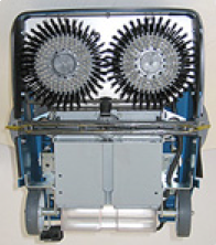 Brushes will fit TurboLava 35Plus and TL2000 Cleaning Machines.