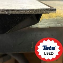 """High Quality Used Kit Manufactured by Tate with 1/8"""" Laminate and Edge Trim, Includes all materials required for installation, including 24"""" x 24"""" panels, steel stringers, pedestals, fasteners, and pedestal adhesive"""