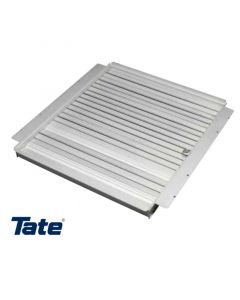 Provides more airflow at 100% open than slide dampers and is easily adjustable from above without panel removal.