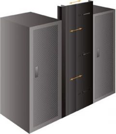 Adjustable knobs allow for a custom fit in any space, such as between racks, power units, and columns