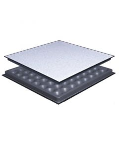 All Steel Kit has a hard surface static dissipative floor finish called HPL or High Pressure Laminate.