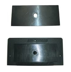 Cover fits over 10 x 5 Flush Mount for increased safety when not in use.