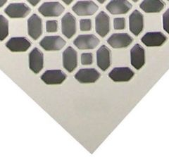 Conductive white textured surface