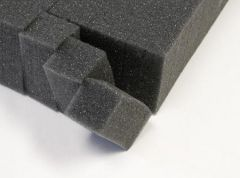 """Sample includes a 6"""" x 8"""" piece of high-performance foam"""