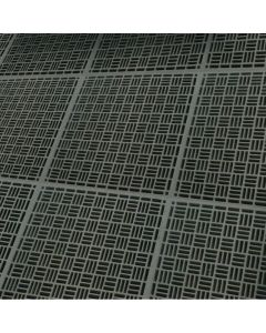 Grated floor representation. Temporary image.