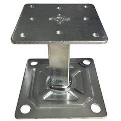 Pedestal for All Steel and Concrete Filled Systems