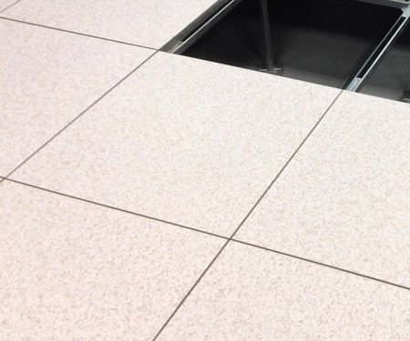 Raised Computer Floor Tiles Are Replaceable And Come In A Variety Of Types