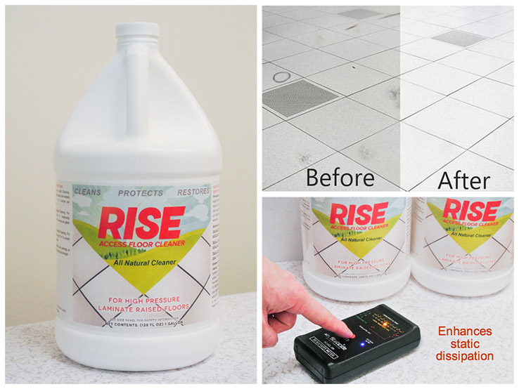 rise access floor cleaner