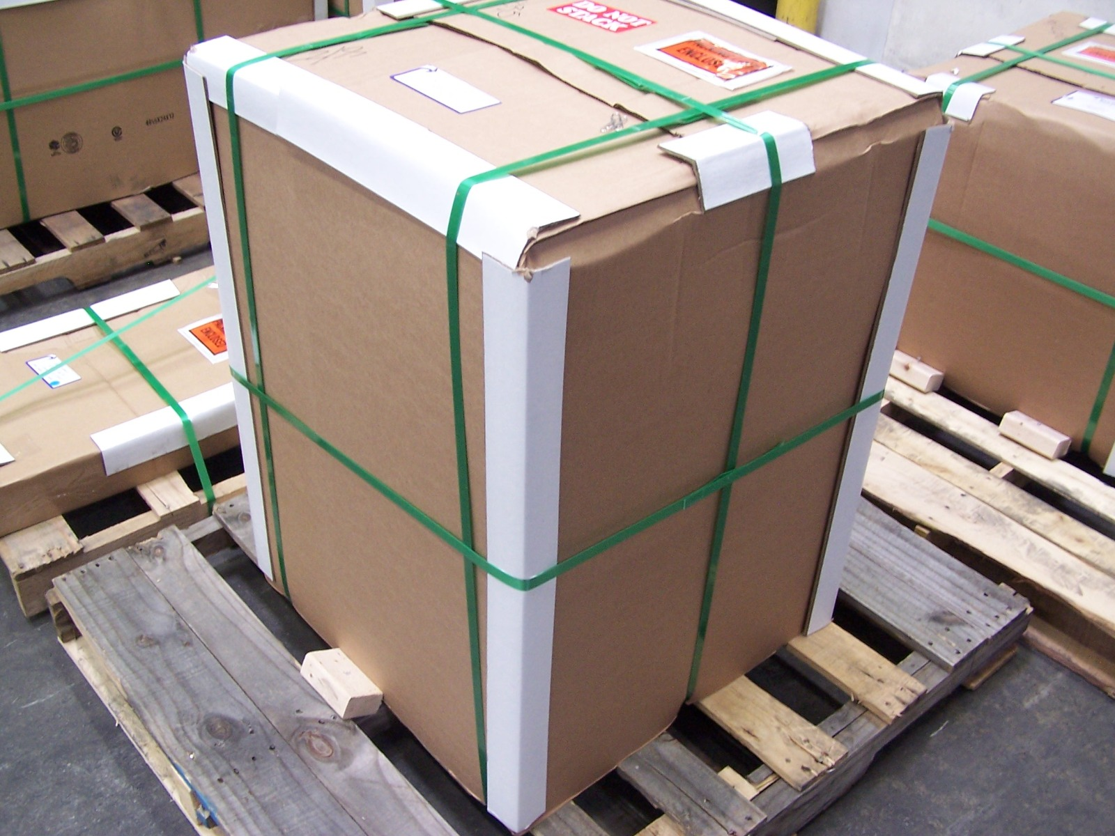 Standard Pallet Packaging
